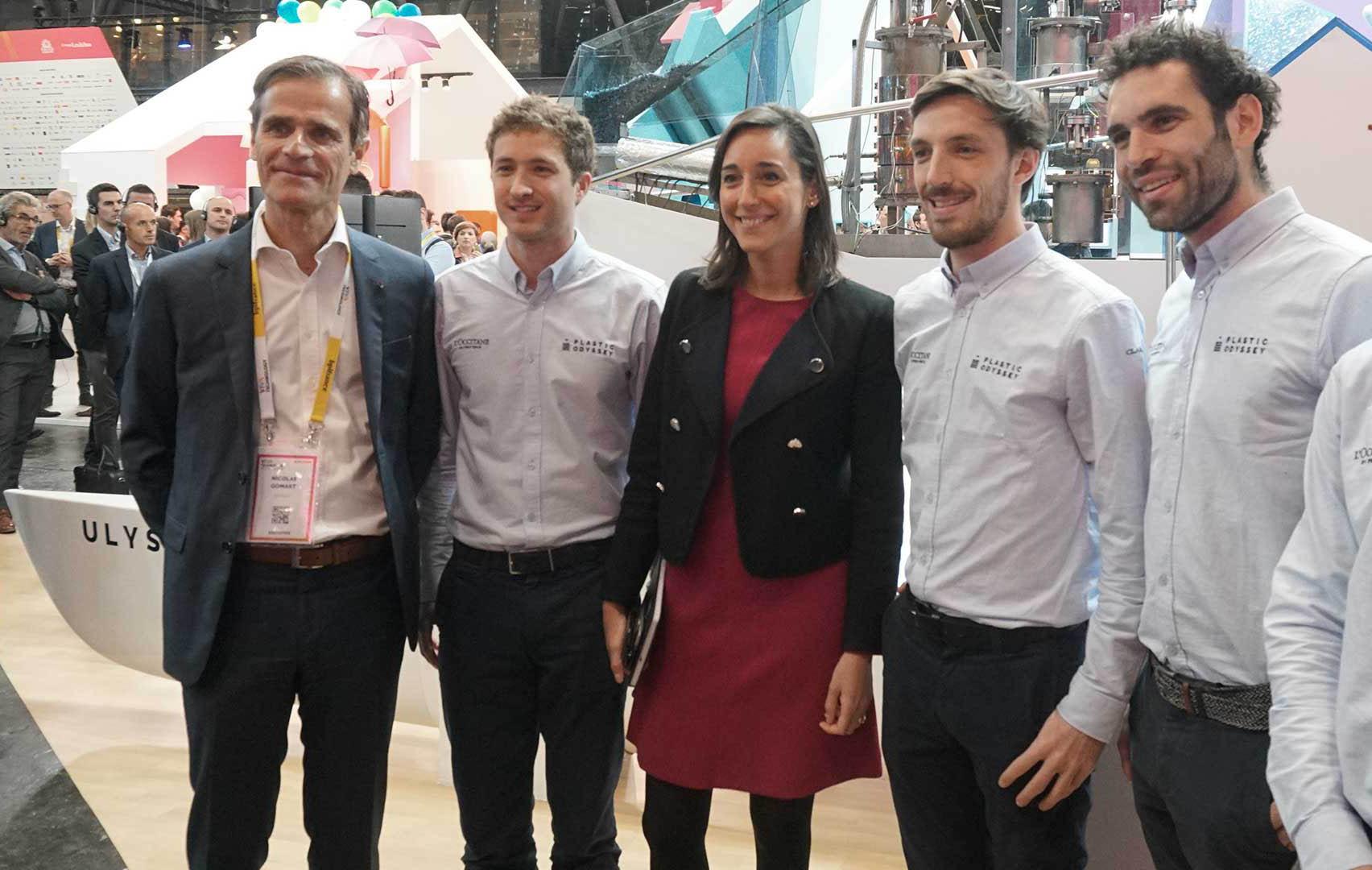 Groupe MATMUT partenaire de Plastic Odyssey