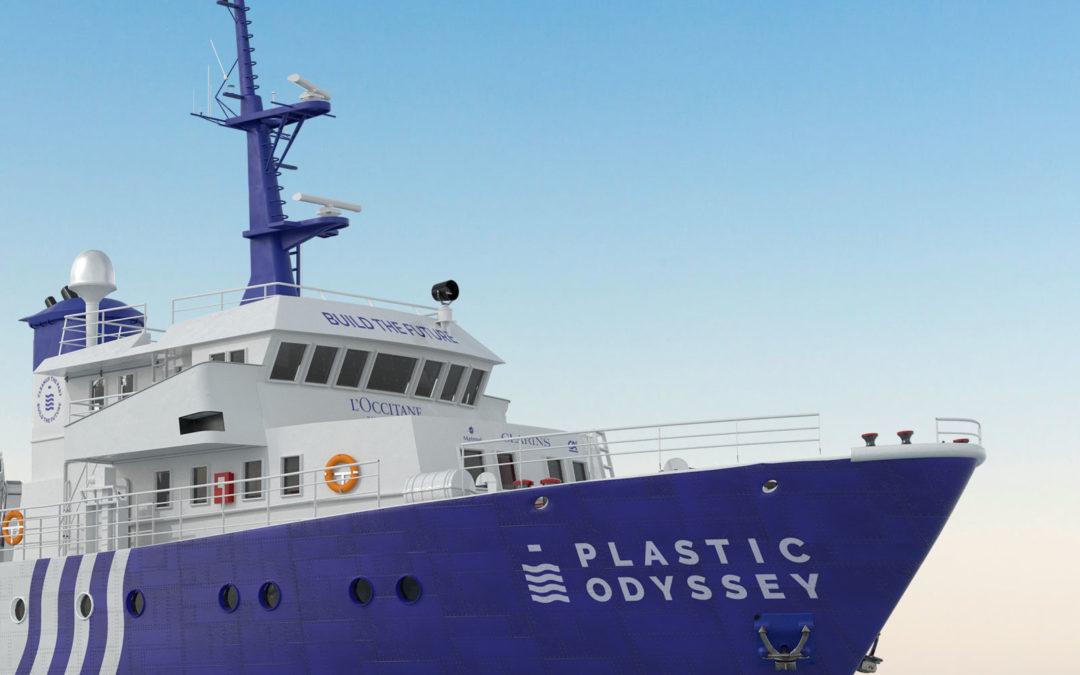 Le Tour du monde des solutions de Plastic Odyssey, le navire qui carbure aux déchets plastiques !