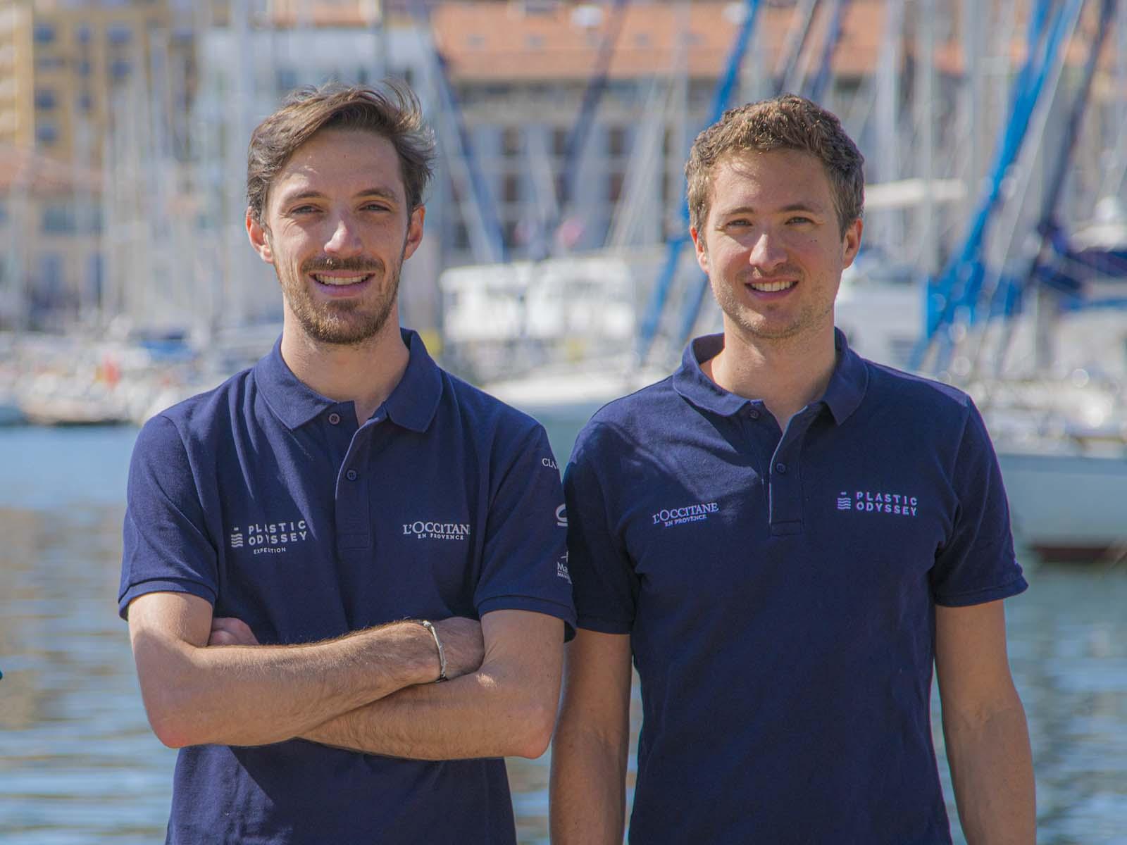 Simon BERNARD et Alexandre DECHELOTTE_crédit Plastic Odyssey